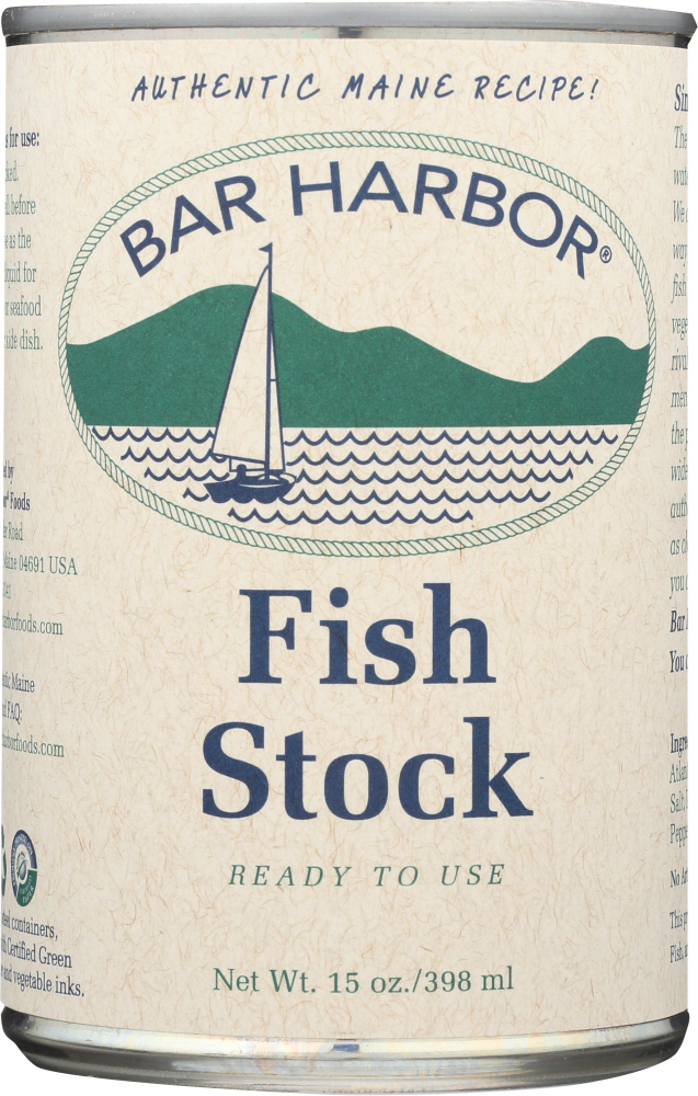 BAR HARBOR: All Natural Cooking Stock Fish, 15 Oz