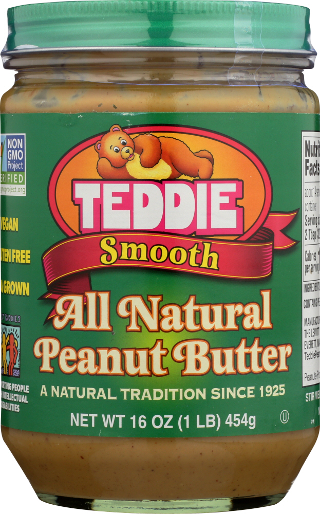 TEDDIE: Peanut Butter Smooth Old Fashioned, 16 oz