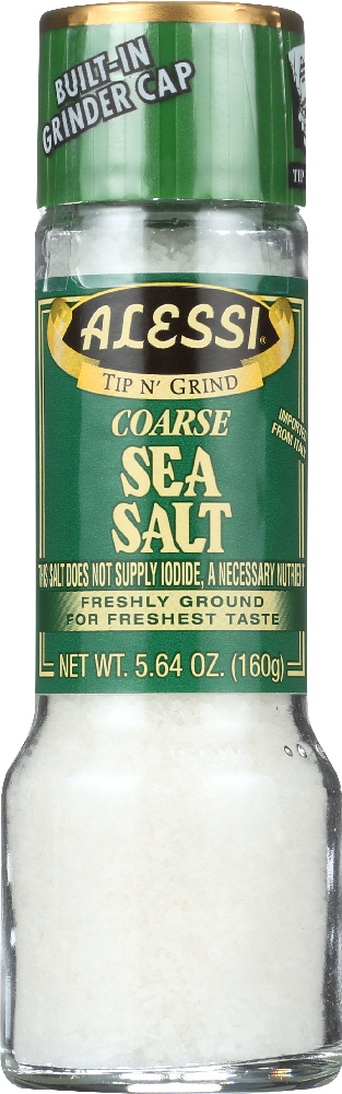 ALESSI: Coarse Sea Salt, 5.64 oz