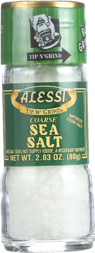 ALESSI: Coarse Sea Salt Grinder, 2.83 Oz