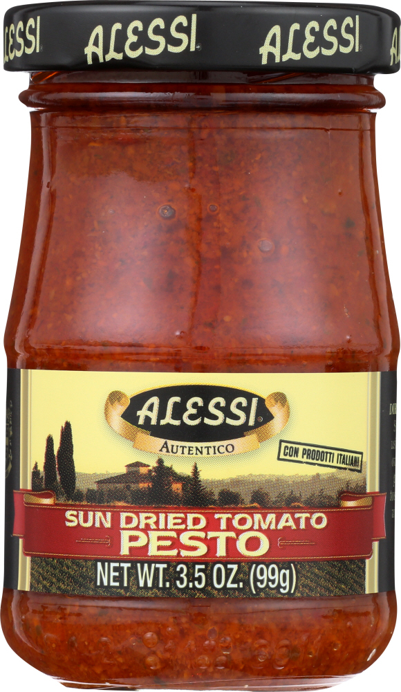ALESSI: Sun Dried Tomato Pesto, 3.5 oz