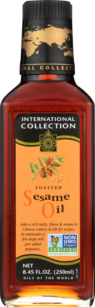 INTERNATIONAL COLLECTION: Toasted Sesame Oil, 8.45 oz