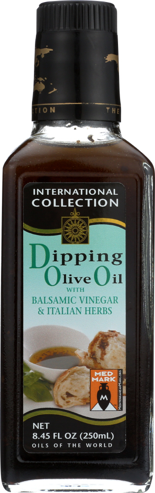 INTERNATIONAL COLLECTION: Dipping Oil Olive Balsamic Vinegar and Herbs, 8.45 oz