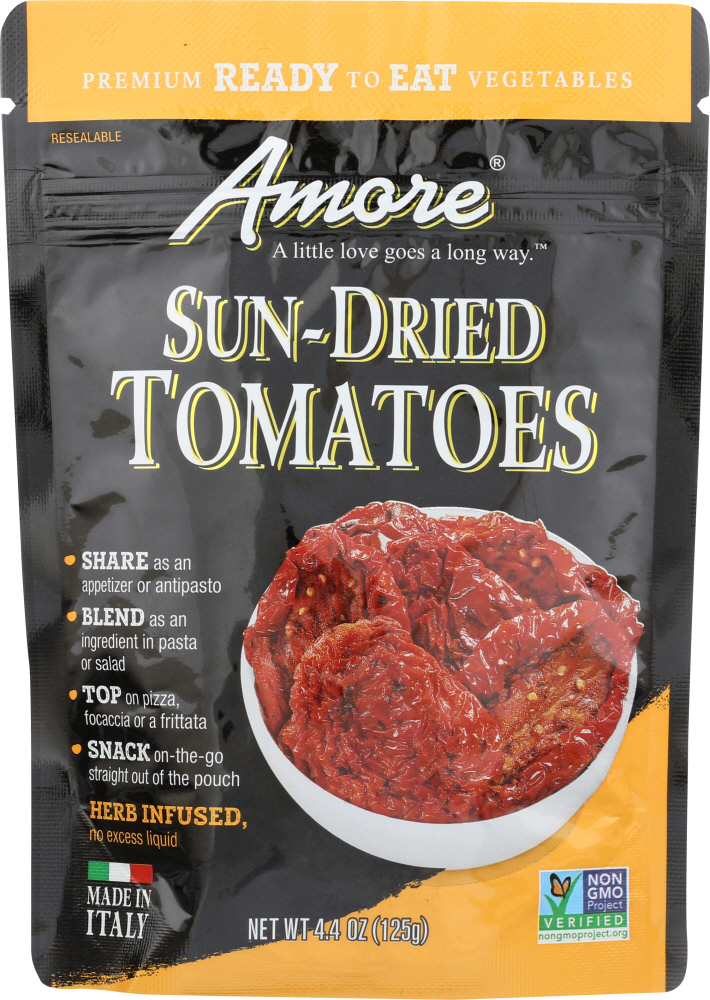 AMORE: Tomatoes Sun Dried, 4.4 oz