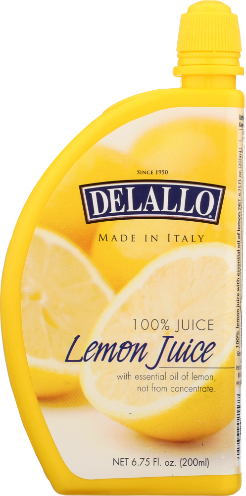 DELALLO: Juice Lemon, 6.75 oz