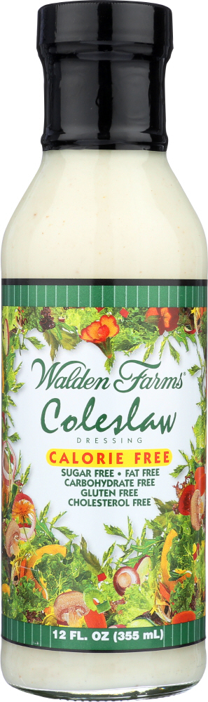 WALDEN FARMS: Caloried Free Dressing Coleslaw, 12 Oz