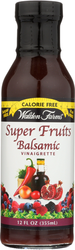 WALDEN FARMS: Super Fruits Balsamic Vinaigrette, 12 Oz
