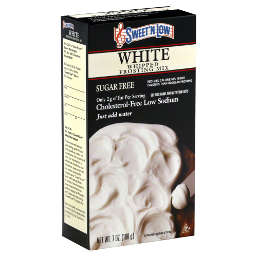 SWEET N LOW: White Whip Frosting Mix, 7 oz