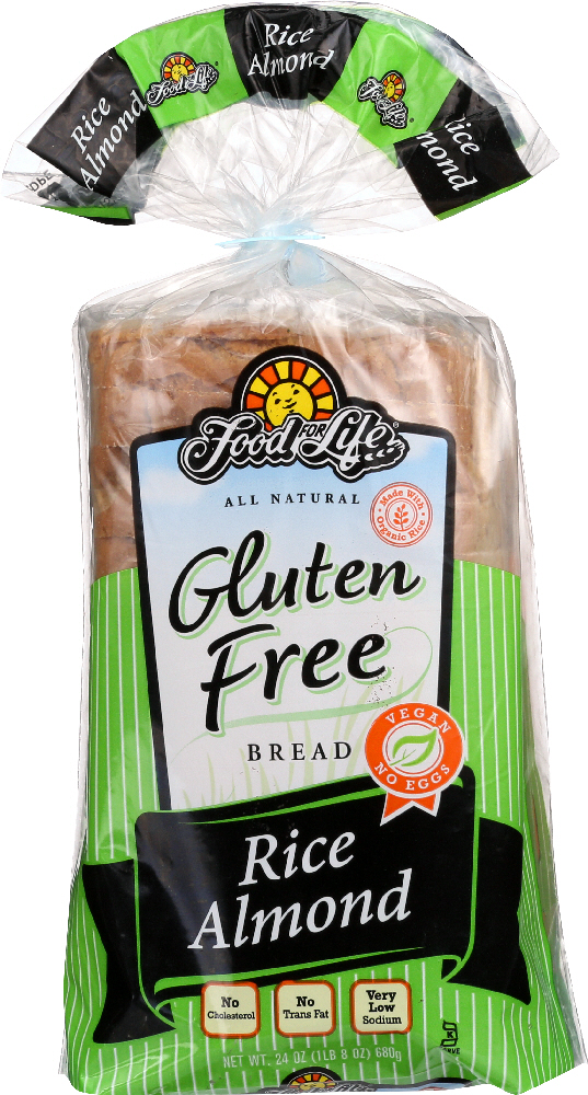 FOOD FOR LIFE: Wheat and Gluten Free Rice Almond Bread, 24 oz