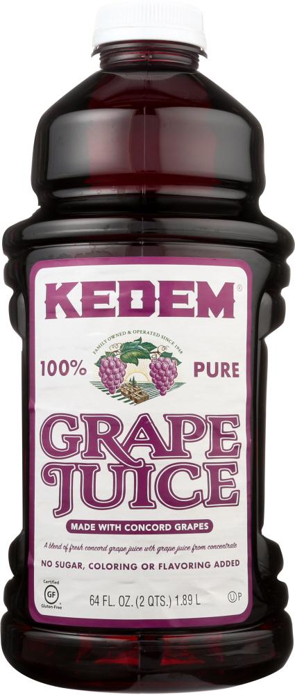 KEDEM: Concord Grape Juice, 64 Oz