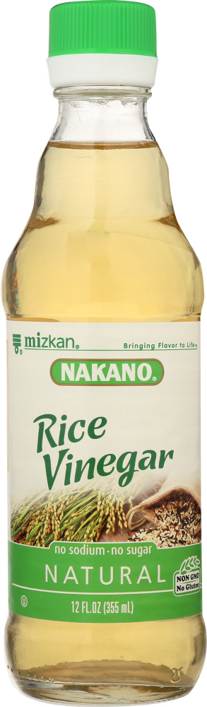 NAKANO: Natural Rice Vinegar, 12 oz
