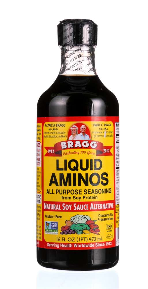 BRAGG: Liquid Aminos Natural Soy Sauce Alternative, 16 oz