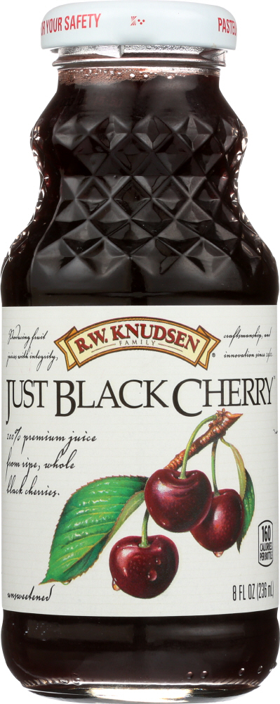 R.W. KNUDSEN FAMILY: Just Black Cherry Juice, 8 oz