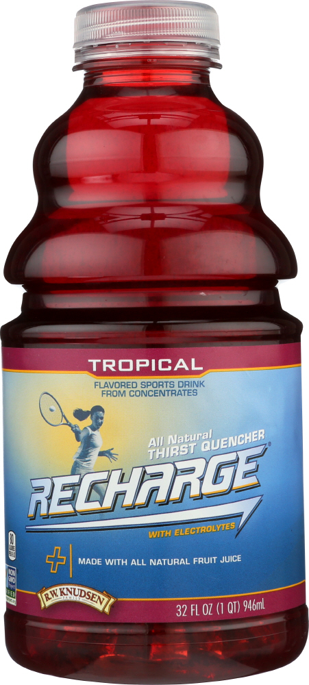 R.W. KNUDSEN: Family Recharge Tropical Drink, 32 oz