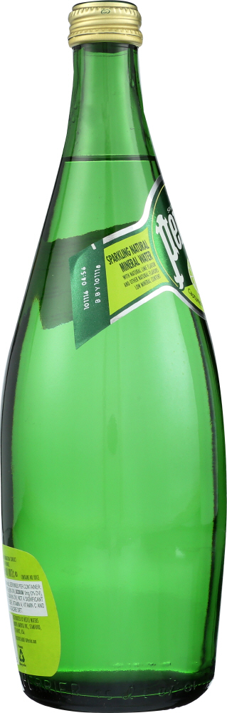 PERRIER: Water Sparkle Lime, 25 fo