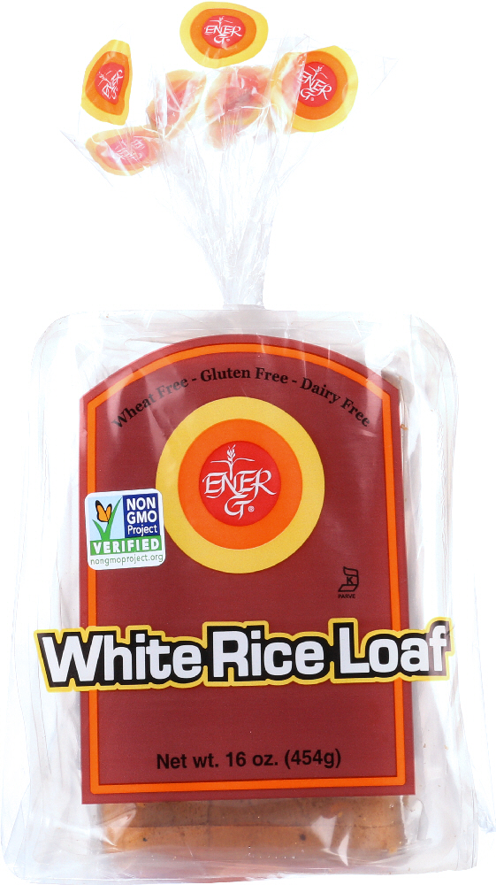 ENER-G FOODS: White Rice Loaf Gluten Free Wheat Free, 16 oz