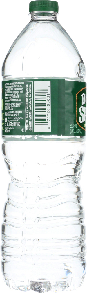 POLAND SPRINGS: Water Spring Pet, 1 lt