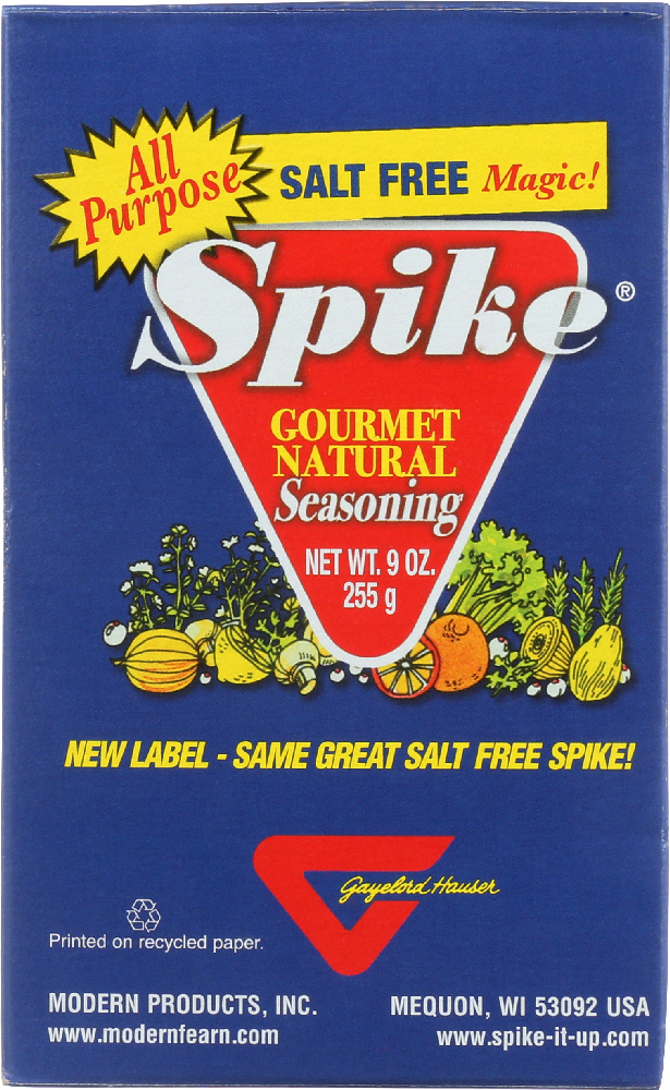 SPIKE: Gourmet Natural Seasoning Salt Free Magic, 9 oz