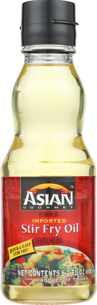 ASIAN GOURMET: Stir Fry Oil, 6.2 fo