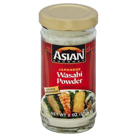 ASIAN GOURMET: Wasabi Powder Japanese, 2 oz