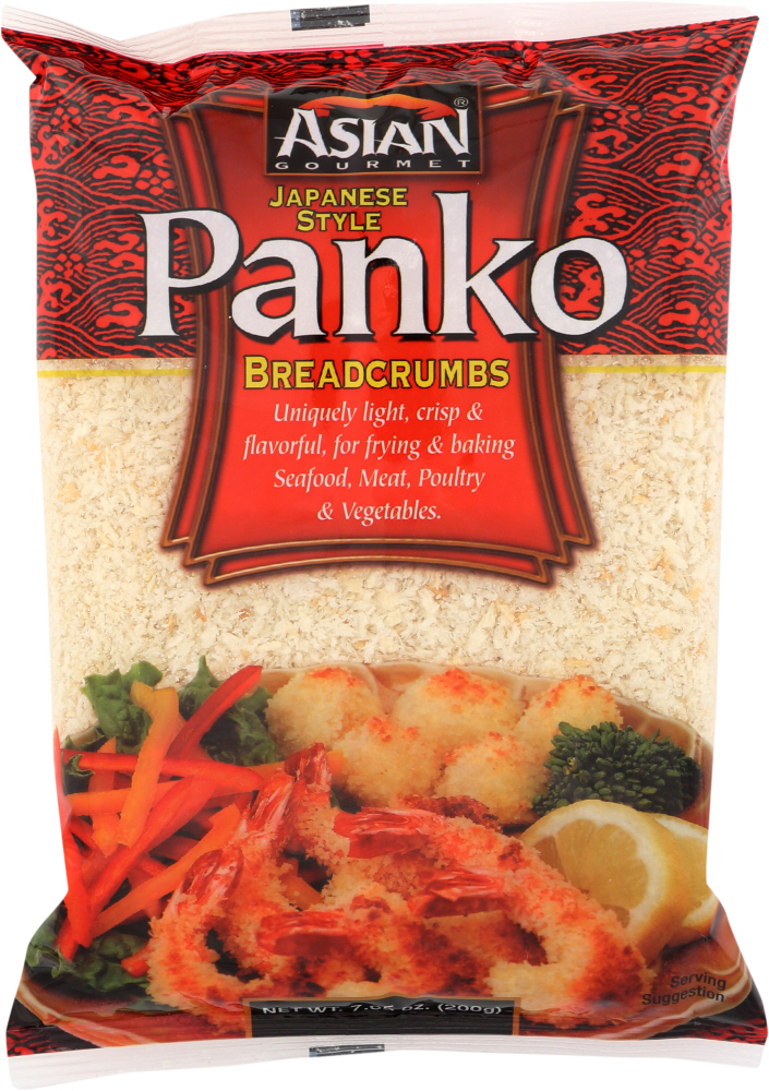 ASIAN GOURMET: Panko Bread Crumbs, 7.05 oz