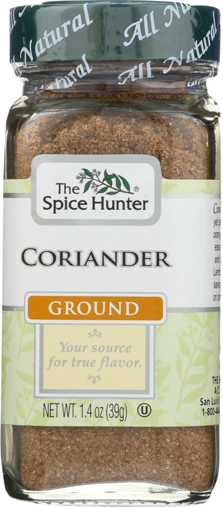 THE SPICE HUNTER: Coriander Moroccan Ground, 1.4 oz