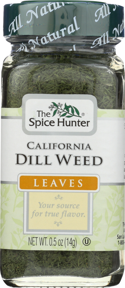 THE SPICE HUNTER: California Dill Weed Leaves, 0.5 oz