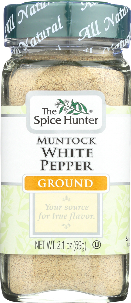 SPICE HUNTER: Pepper White Ground, 2.1 oz