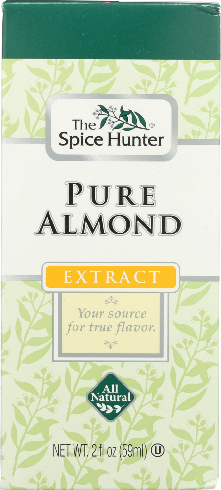 SPICE HUNTER: Pure Almond Extract, 2 oz