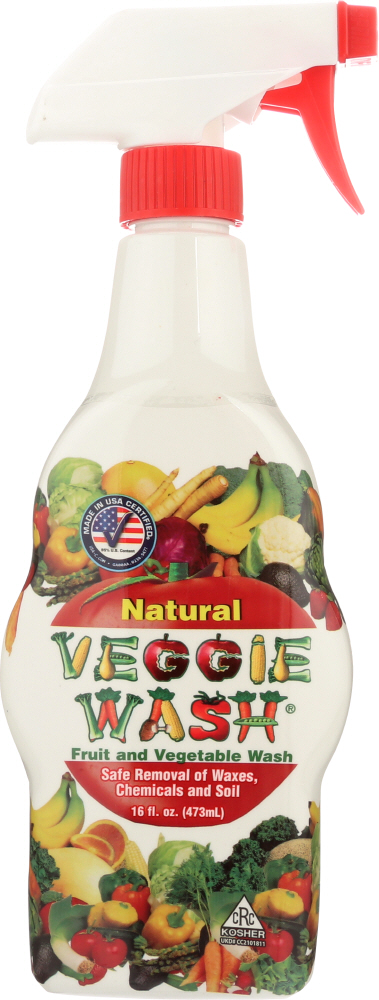 CITRUS MAGIC: Natural Veggie Wash Fruit And Vegetable, 16 oz