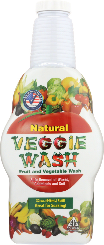 CITRUS MAGIC: Natural Veggie Wash Fruit And Vegetable, 32 oz