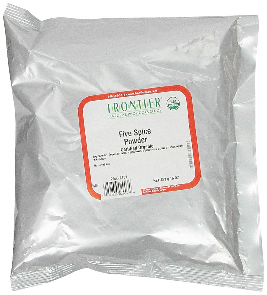 FRONTIER HERB: Organic Chinese Powder Five Spice, 16 oz
