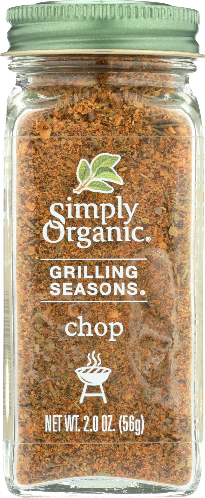 SIMPLY ORGANIC: Seasoning Chop Grilling, 2 oz