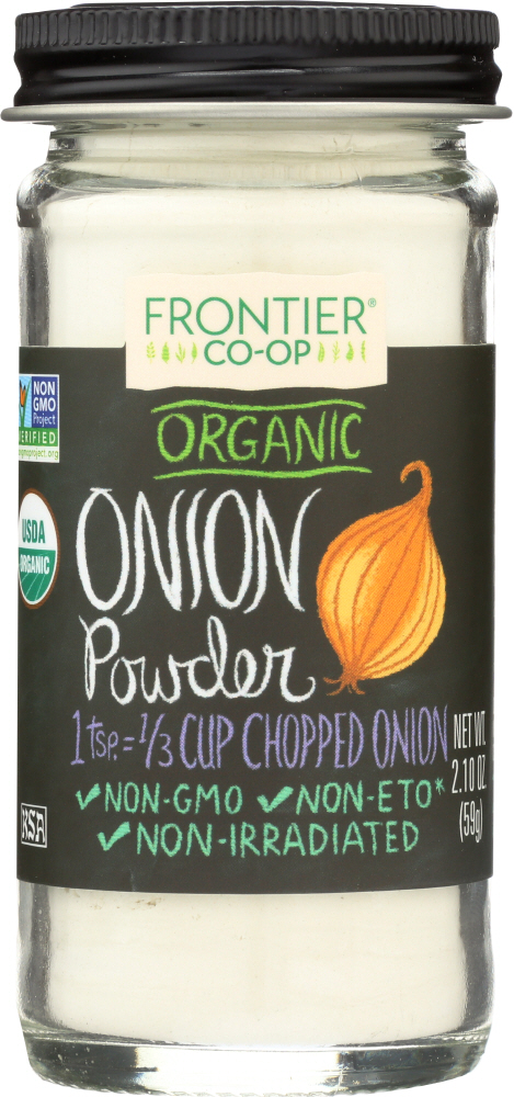 FRONTIER NATURAL PRODUCTS: Organic Onion Powder, 2.1 oz
