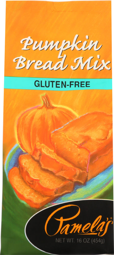PAMELA'S: Pumpkin Bread Mix Gluten Free, 16 oz