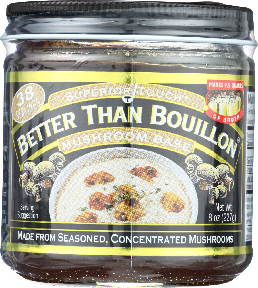 BETTER THAN BOUILLON: Base Mushroom, 8 oz