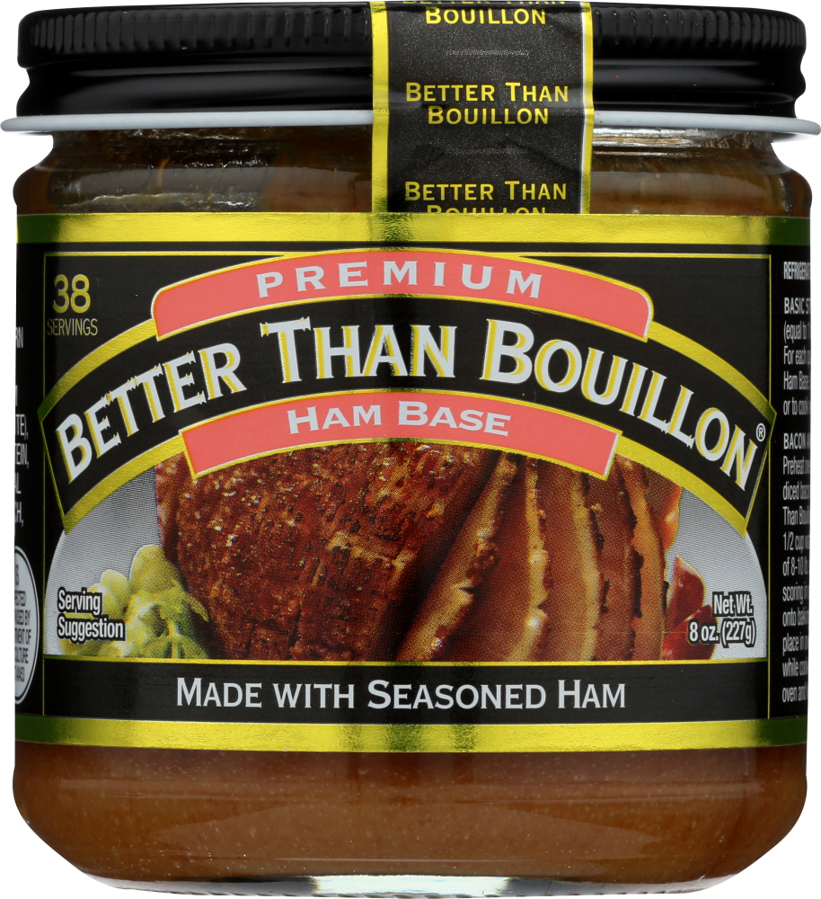 BETTER THAN BOUILLON: Ham Base, 8 Oz