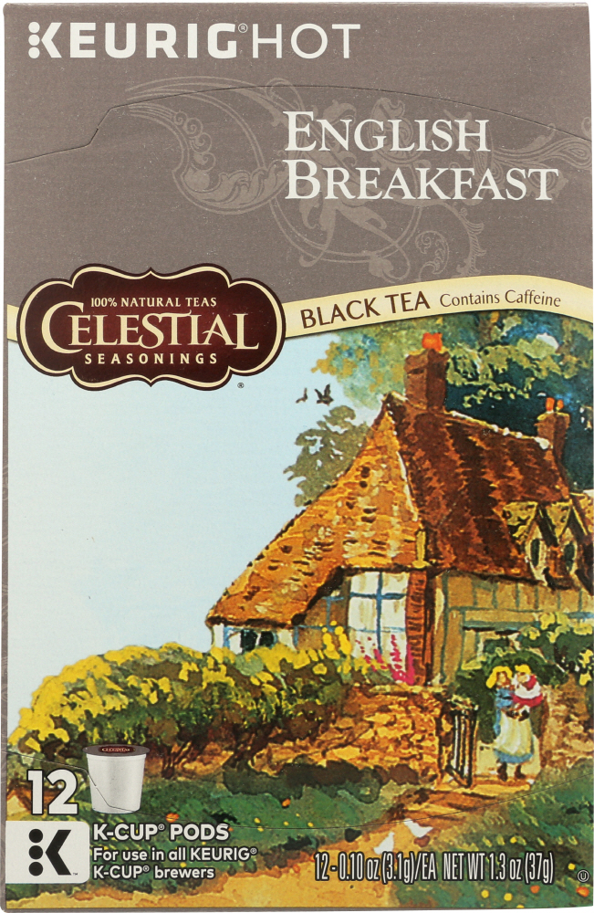 CELESTIAL SEASONINGS: Tea Kcup English Breakfast, 12 pc
