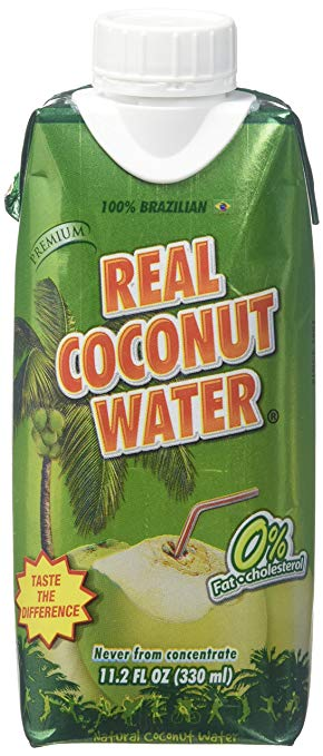 REAL COCO: 100% Coconut Water, 330 ml