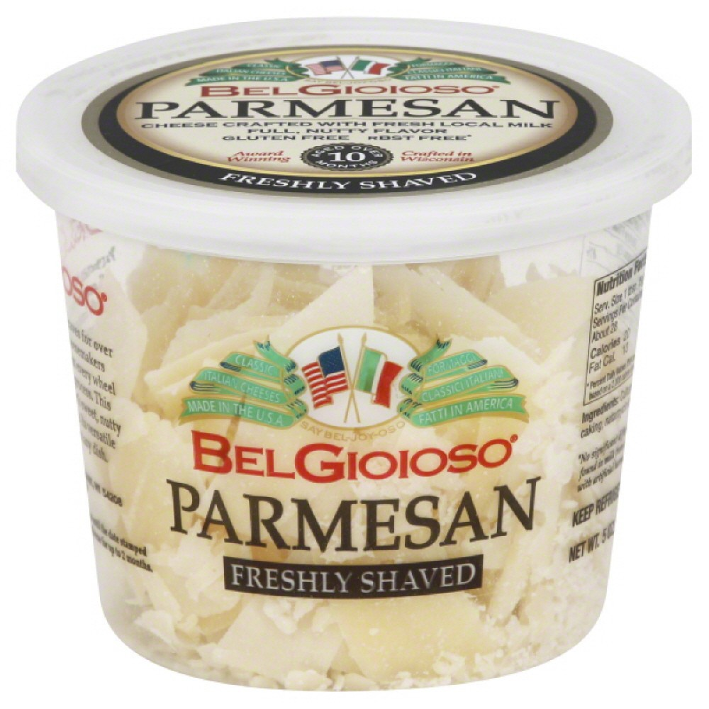BELGIOIOSO: Shaved Parmesan Cheese Cup, 5 oz