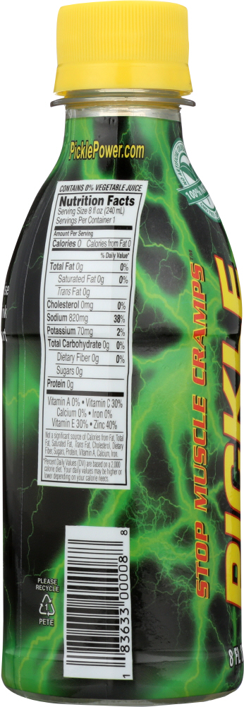PICKLE JUICE: Juice Pickle Sport, 8 fl oz