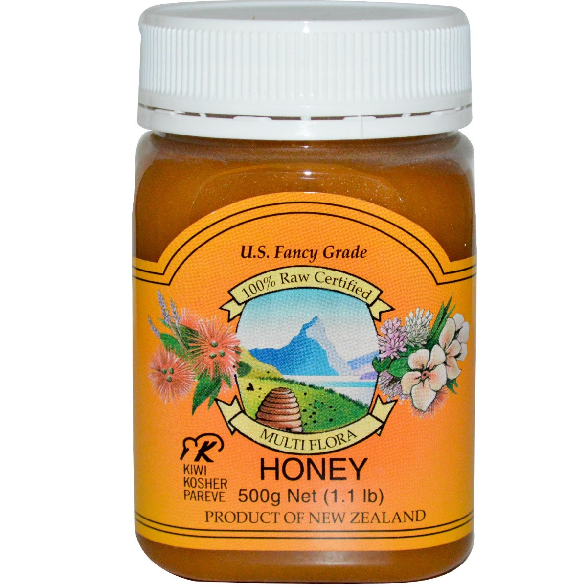 PRI: Multi Flora Honey, 2.2 lb