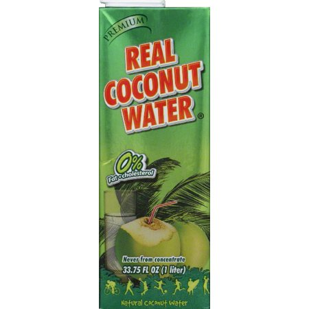 REAL COCO: 100% Coconut Water, 1 lt