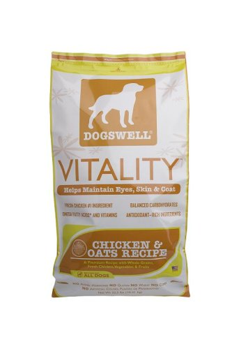 DOGSWELL: Vitality Chicken Oats Dry, 22.5 lb