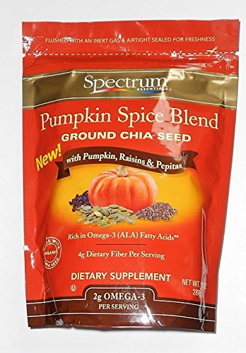 SPECTRUM ESSENTIAL: Pumpkin Spice Blend Chia Seed, 10 oz