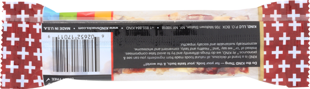 KIND PLUS: Nutrition Bar Cranberry Almond + Antioxidants, 1.4 oz