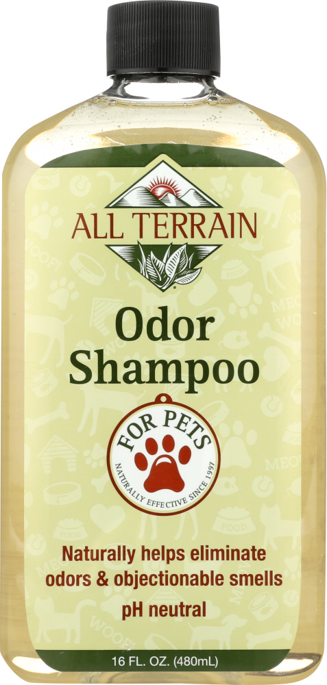 ALL TERRAIN: Shampoo Pet Odor, 16 oz
