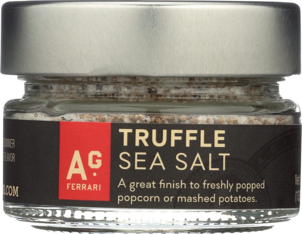AG FERRARI: Seasoning Truffle Sea Salt, 4 oz
