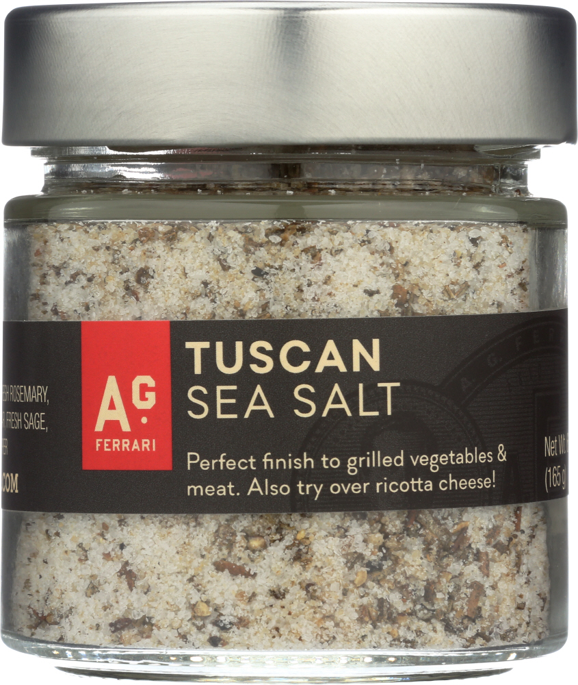 AG FERRARI: Tuscan Sea Salt, 6 oz