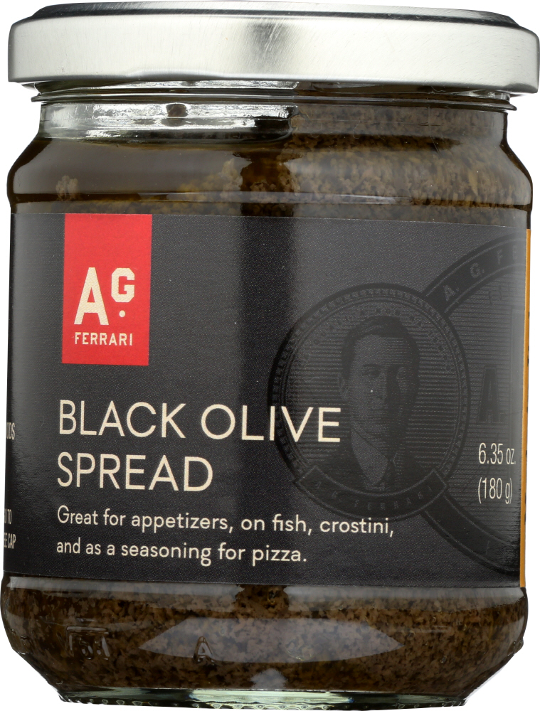 AG FERRARI: Black Olive Spread, 6.35 oz
